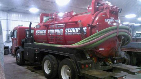 commercial septic pumping