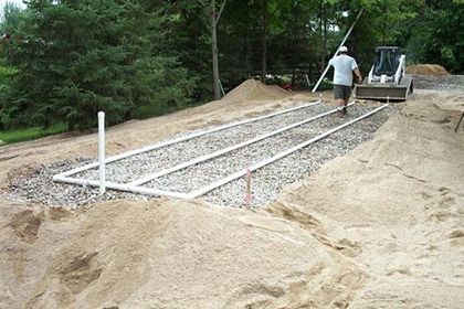 septic mound system